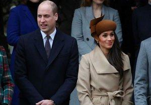 Meghan Markle dostala dárek od prince Williama.