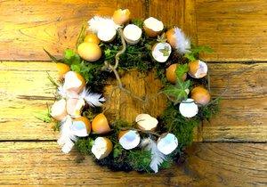 Velikonoční věnec: Podrobný návod krok za krokem