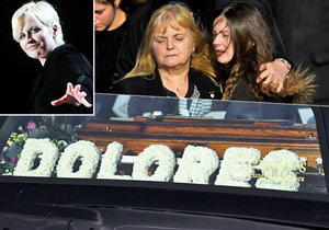 V úterý proběhl pohřeb Dolores O'Riordian.