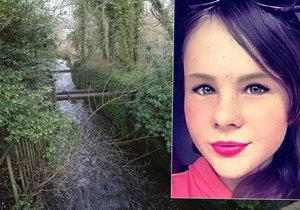 Pohřešovanou školačku našli mrtvou v řece.