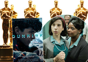 Jaký film a jací herci získají letos zlatou sošku Oscara za rok 2017?