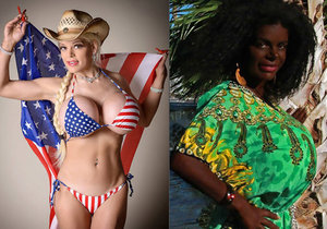 Martina Big se stala černoškou.