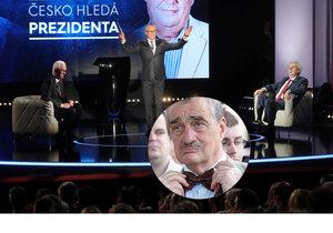 Schwarzenberg o debatě na Primě: Na mě si Zeman tolik nedovoloval, Drahoš byl příliš profesorský.