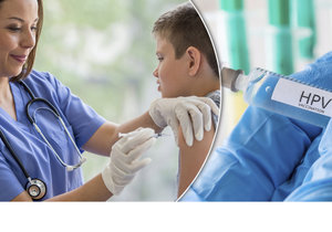Očkování je zdarma i pro kluky!