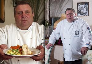 Trápení televizního kuchaře Jaroslava Sapíka Pohřbil mámu a složil se!
