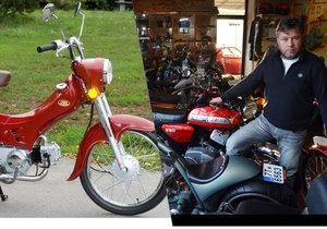 Pavel Brída ví o motorkách všechno. Prodal jich desítky tisíc, ale brzy bude prodávat jen youngtimery a elektromotorky.