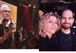 Koncert na podporu Drahoše: Machálková se fotila s kolegou z Tváře, Čvančarová se točila na pódiu!