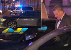 Bohuslav Svoboda měl v centru Prahy nehodu.