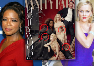 Oprah Winfrey a Reese Witherspoon grafik Vanity Fair trochu zmutoval.