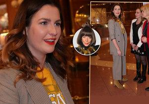 Františka ohodnotila nový outfit Kate Zemanové.