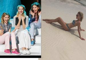 Kráska z Mamma Mia! Klausová: Vystavuje křivky v plavkách.