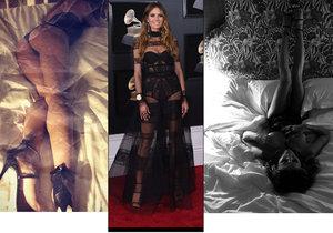 Heidi Klum byla na Grammy velmi sexy.