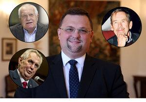 Bývalý hradní protokolář Jindřich Forejt promluvil, jaké to bylo spolupracovat s třemi českými prezidenty.