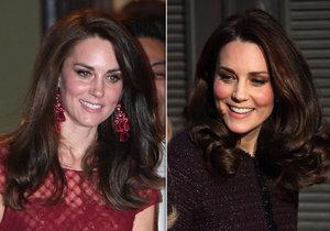 Kate Middleton věnovala své vlasy na charitu.