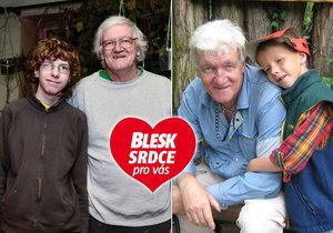 Richard Šípek (67) z Asociace neúplných rodin: Syna získal až jako důchodce!