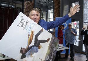 Fero Fenič s plakátem letošního Febiofestu