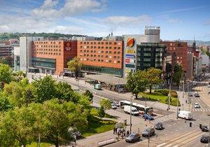 Investor CPI Property Group hodlá zastavět travnatou plochu na Náměstí OSN. Radnice i občané jsou proti.