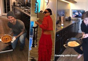 Victoria Beckham nechala nahlédnout fanoušky do své luxusní vily.