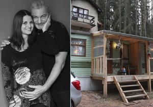 Daniel Hůlka s manželkou budou nejspíš vychovávat dceru v mobilheimu.