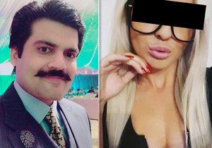 """Tereza vyrazila """"nejlepšího právníka v Láhauru"""": Zafar balamutil média, opěvoval Terezinu krásu."""
