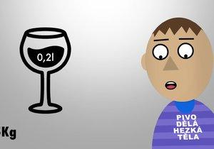 Jak se odbourává alkohol