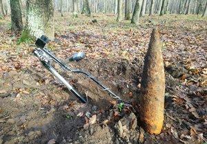Boří les po páté: Pyrotechniky čeká v další etapě vyčištění 47 hektarů od válečné munice