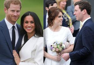 Museli ustoupit Harrymu a Meghan! Termín svatby princezny Eugenie odtajněn.