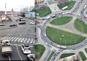 Které křižovatky jsou v Praze nejnebezpečnější?
