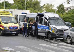 Nehoda policejní kolony v pražské Krči: Řidič zůstane bez trestu, měl epilepsii, zjistila inspekce