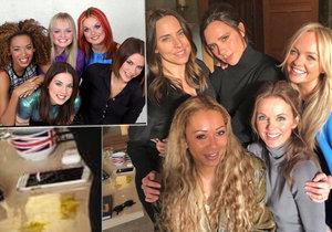 Legendární Spice Girls si uřízly ostudu: Podezřelá bílá šmouha na společné fotce!