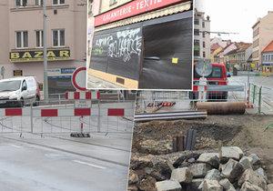 Rekonstrukce Zenklovy ulice drtí místní podnikatele.