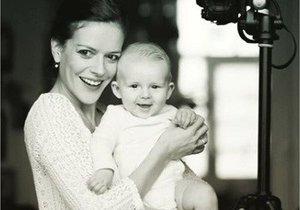 Andrea Kerestešová se pochlubila synem Tobiášem.