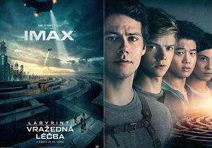 Filmová verze dobrodružné sci-fi série Labyrint končí v kinech dílem Vražedná léčba od 25. 1. 2018.