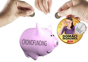 Nastartujte svůj projekt prostřednictvím crowdfundingu