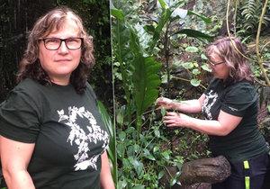 """Od klenotů do exotické džungle: Martina (49) se v botanické zahradě stará o rostliny. """"Neměnila bych,"""" říká"""