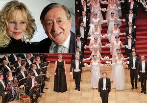 Vídeňský Ples v Opeře: Opulentní zábavu si nenechala ujít ani Melanie Griffith.