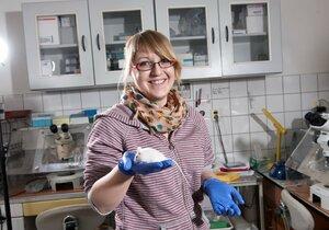 Vědkyně Helena Fulková