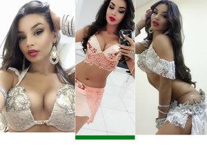 Břišní tanečnice Johara alias Jekatěrina Andrejeva byla zatčena v Egyptě za tanec bez kalhotek.