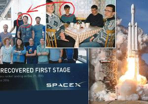 Z mladého stydlína se dopracoval až ke konstrukci raketoplánu.