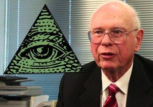 Kanadský exministr Paul Hellyer je přesvědčen, že svět žije pod zlovládou iluminátů.