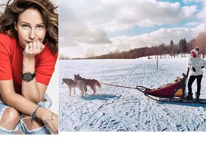 Veronika Arichteva se nechala táhnout smečkou psů! Navezla ji do toho kamarádka Solaříková.