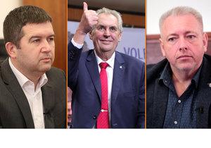 """ČSSD volí šéfa a Zeman je u toho. Po jeho výhře zůstala v Hradci """"sekyra"""""""