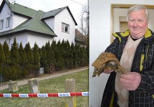 Jediné přeživší ze zlínského domu smrti: Želvy našly nový domov
