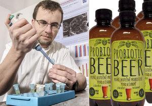 Vědci z Brna vynalezli unikátní pivo: Je probiotické a zastaví průjem