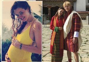 Lilia Khousnoutdinová se pochlubila těhotenským bříškem, ve kterém nosí potomka Karla Janečka.