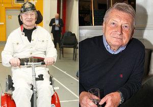Proč Josef Dvořák skončil na vozíku?