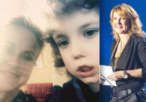 Vendula Pizingerová se setkala s klukem, kterému pomohla zachránit život před rakovinou.