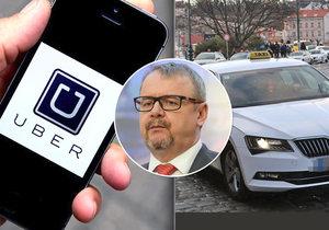 Novelu zákona, která by řešila fungování alternativních taxislužeb typu Uber, se určitě nepodaří předložit na nejbližší schůzi Sněmovny, jež začne příští týden.
