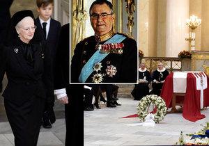 Pohřeb dánského prince Henrika (†83)