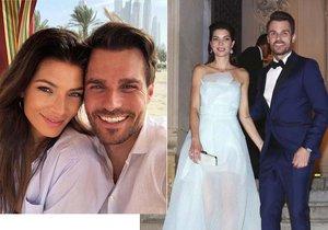 Sláva novomanželům! Leoš Mareš s Monikou zveřejnili první foto z líbánek.